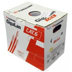 Cabo de Rede Lan CAT6 Furukawa GIGALAN 23awgX4p 305m *VERMELHO