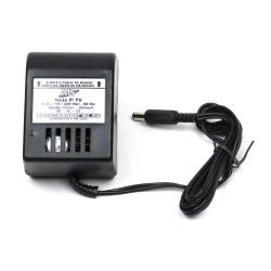 Fonte de Transformador 12VDC(contínua) - 800mah. (negativo interno no pino) - MS