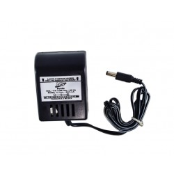 Fonte de Transformador 12VDC(contínua) - 800mah. (poistivo interno no pino) - MS