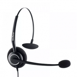 Fone Headset CHS 55 INTELBRAS P/Call centers (Conector RJ9)