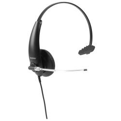 Fone Headset THS 50 INTELBRAS P/Call centers (Conector QD)