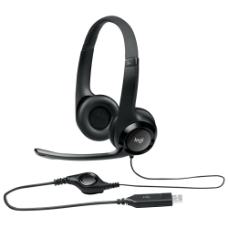Fone Headset H390 LOGITECH P/Call Centers (Conector USB)