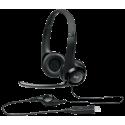 Fone Headset H390 LOGITECH P/Call Centers (Conector USB)