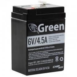 Bateria SELADA 6V 4,5V GREEN