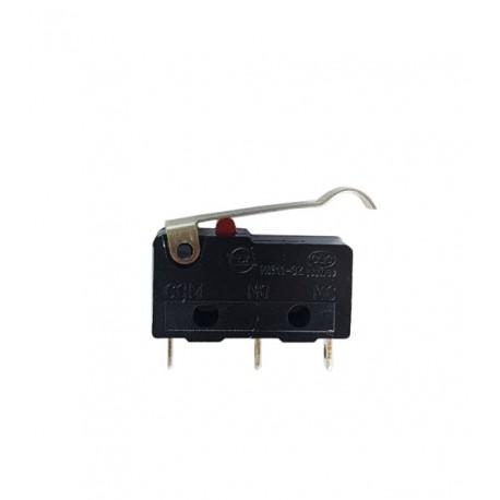 Chave micro Switch NA/NF - 3 Terminais C/ Haste curva