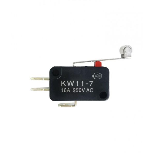 Chave (Switch) NA/NF - 3 Terminais - Haste com rodana.