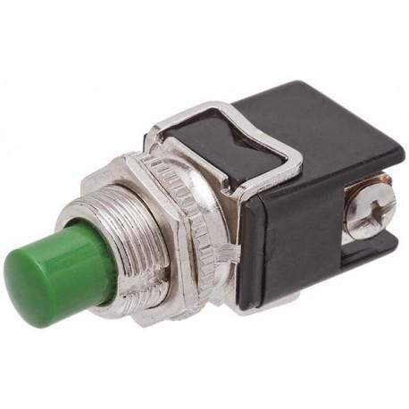 Kit 10 - Chaves Push Button 8A 125V/ 4A 250V - Verde