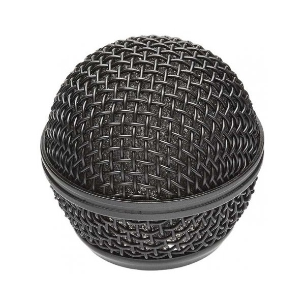 Globo para Microfone MXT Metálico Preto (Rosca 31mm) 54.2.002