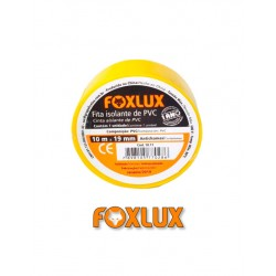 Fita Isolante Amarela - 10 metros - FoxLux