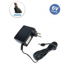 Fonte Chaveada 6VDC 500mah - Telefone Philips/Motorola (pino 90º)