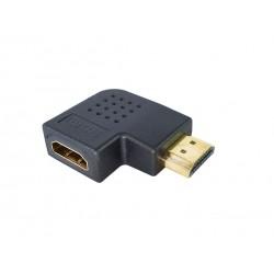 Adaptador HDMI 90º graus Lateral - 1.4/2.0