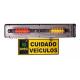 Sinaleira Audiovisual para garagens - Ipec - 127v/220v