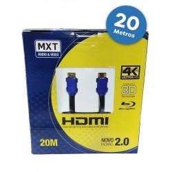 CABO HDMI 10 METROS 2.0 4K/3D 19 PINOS PIX