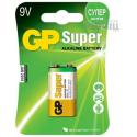 Bateria 9v Alcalina GP