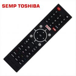 Controle Remoto TV LCD/LED Semp Toshiba C/Netflix e Youtube - L32S3900S / L39S3900FS / L43S3900FS - Confira os modelos!