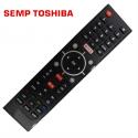 Controle Remoto TV LCD/LED Semp Toshiba C/Netflix, Youtube e GloboPlay - Confira os modelos!