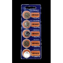 Bateria CR1632 3V Sony - Cartela com 5un.