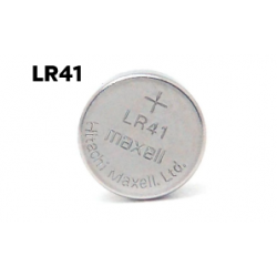 Bateria LR41 1,5V Maxell