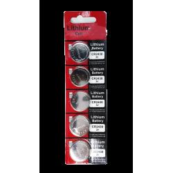 Bateria CR2430 3V Sony - Cartela com 5un.