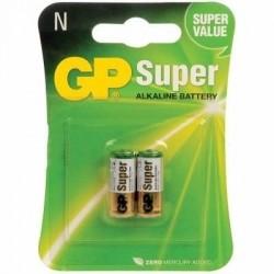 Bateria 1,5volts LR1 ''N'' GP - Cartela c/ 2un.