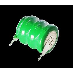 Bateria 3,6volts 60ma Níquel Cádmio - Para memória