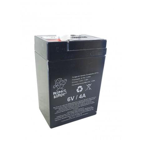 Bateria SELADA 6V 4,5A UNIPOWER