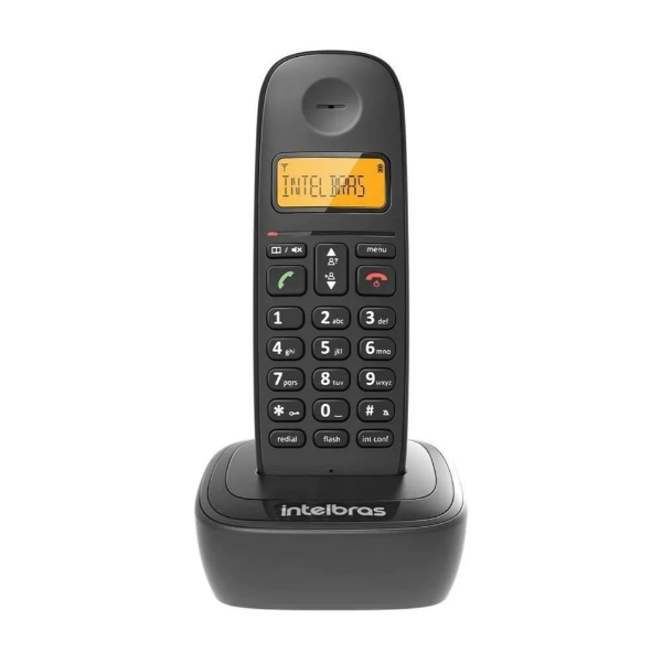 Telefone Sem Fio Intelbras ID40 Com Bina