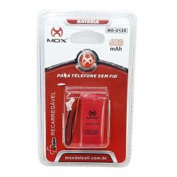 Bateria Telefone Sem fio 2.4v 600mah mo-u120 MOX