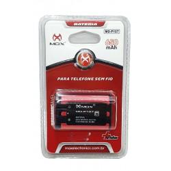 Bateria Telefone Sem fio 3.6v 650mah P107 MOX