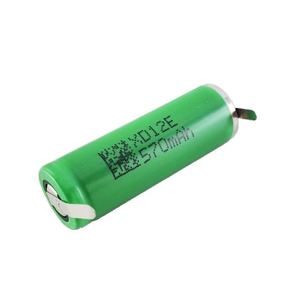 Bateria 2,4v 750mah Recarregável - Para Barbeadores e outros.