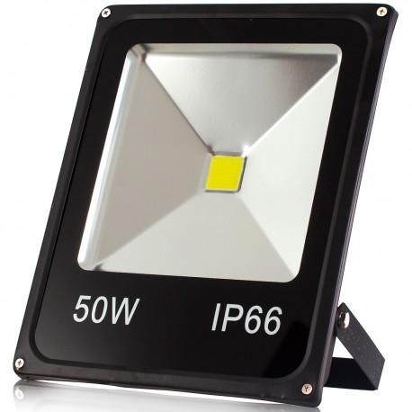 REFLETOR LED 50W BRANCO FRIO 110/220V