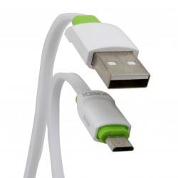 Cabo Micro USB 1m Padrão V8 Kaidi - 1m