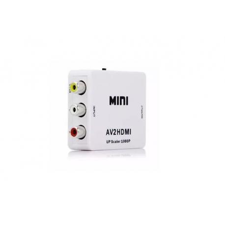 Conversor/adaptador AV para HDMI