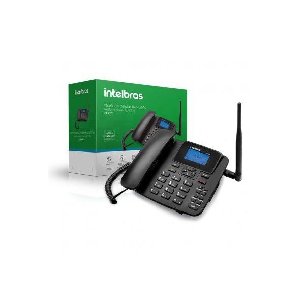 Telefone Rural Intelbras 1 Chips CF4201