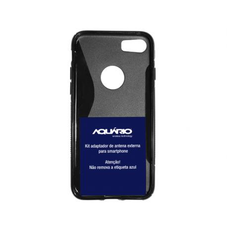 Kit adaptador/capa Iphone 7 CF435 Aquario