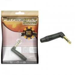 Plug P10 STEREO Performance Sound Black Series Vermelho/Preto