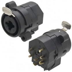 Jack para plug P10 e XLR (Canon) com trava